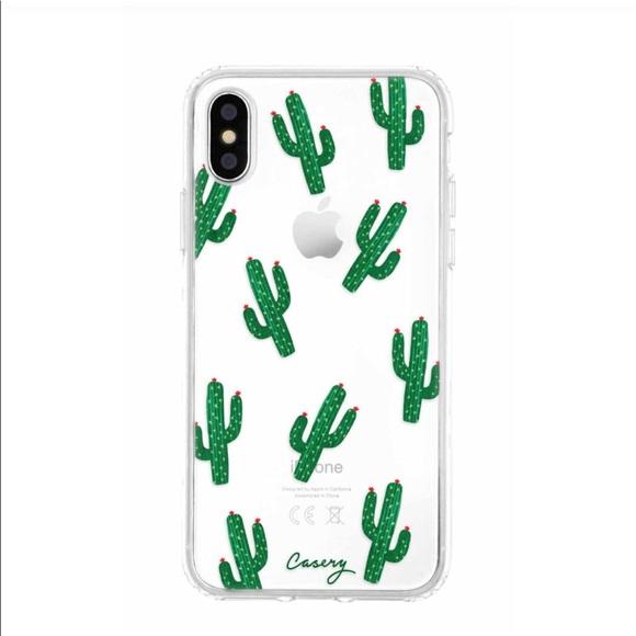 Casery iPhone X cactus case